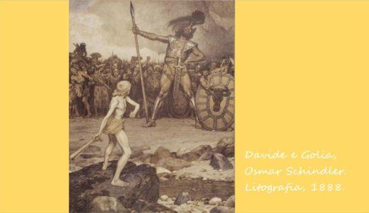 『ダヴィデとゴリアテ』あらすじを解説!勇敢な少年は巨人を倒し、英雄となった。