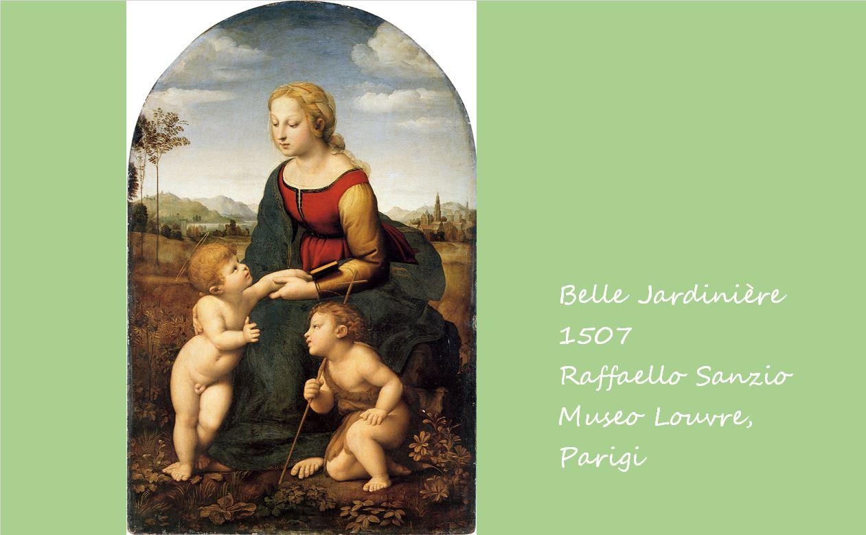 美しき女庭師 ラファエロ・サンツィオ, 1507 ルーブル美術館, パリ