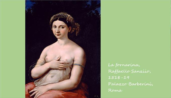 ラ・フォルナリーナ ラファエロ・サンツィオ, 1518-19 バルベリーニ宮殿, ローマ