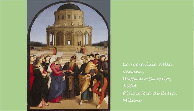 聖母の結婚 ラファエロ・サンツィオ, 1504 ブレラ美術館, ミラノ