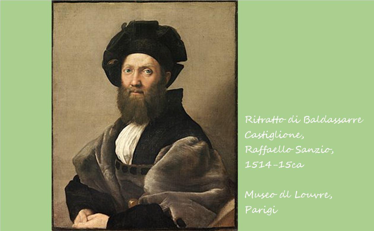 バルダッサーレ・カスティリオーネの肖像 ラファエロ・サンツィオ, 1514-15頃 ルーブル美術館, パリ