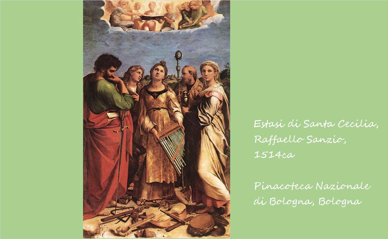 聖セシリアの法悦 ラファエロ・サンツィオ, 1514頃 ボローニャ国立絵画館