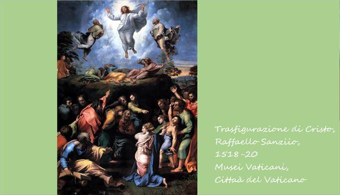 キリストの変容 ラファエロ・サンツィオ, 1518-20 ヴァチカン美術館, ヴァチカン市国