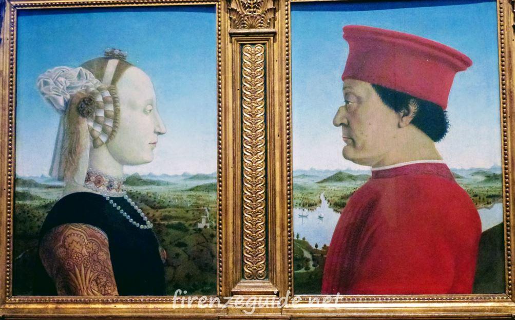 ウルビーノ公夫妻の肖像