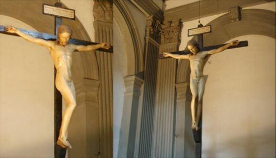 ミケランジェロの十字架磔刑像
